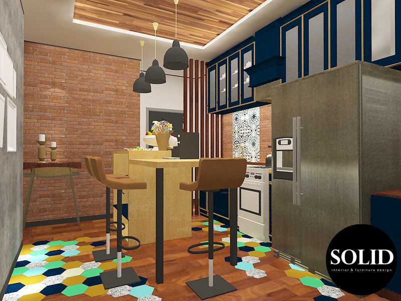 Solidinterior Industrial Style Apartment  Gallery West Apartment  Gallery West Apartment  Kitchen-Set-Design-View-1 Industrial 16352