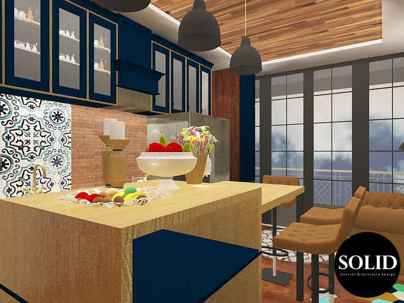 Solidinterior Industrial Style Apartment  Gallery West Apartment  Gallery West Apartment  Kitchen-Set-Design-View-3 Industrial 16353