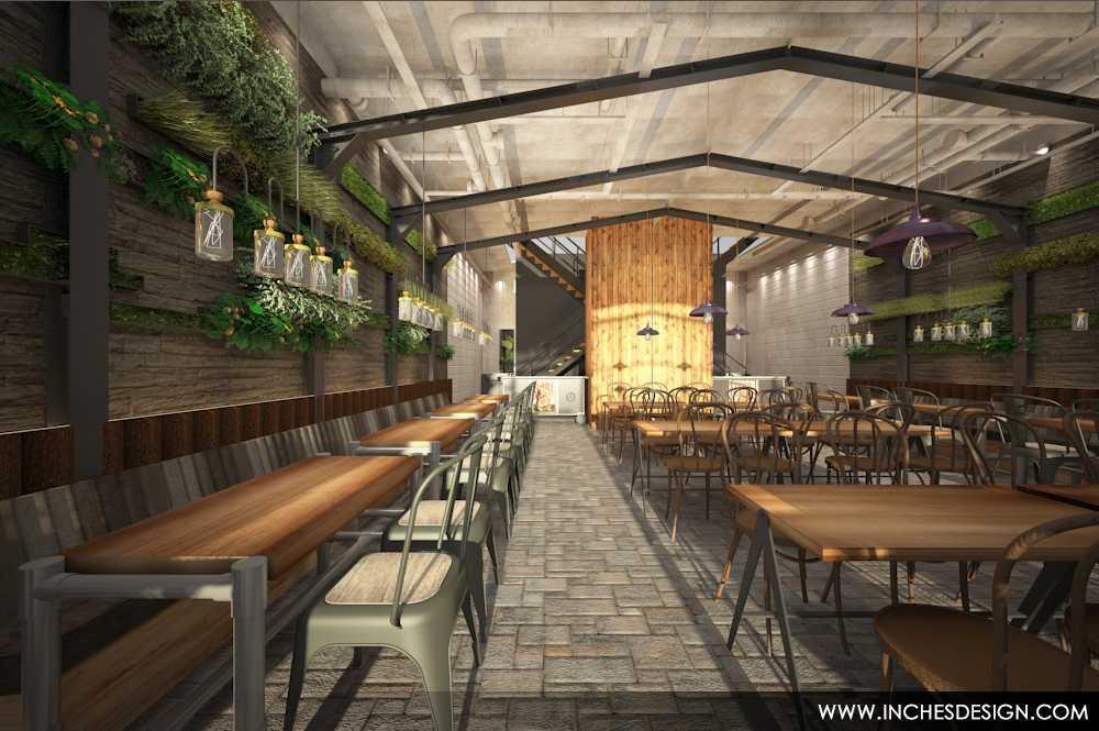 Inches Design Pepperloin Steakhouse Pik Pik Dining Area  15935