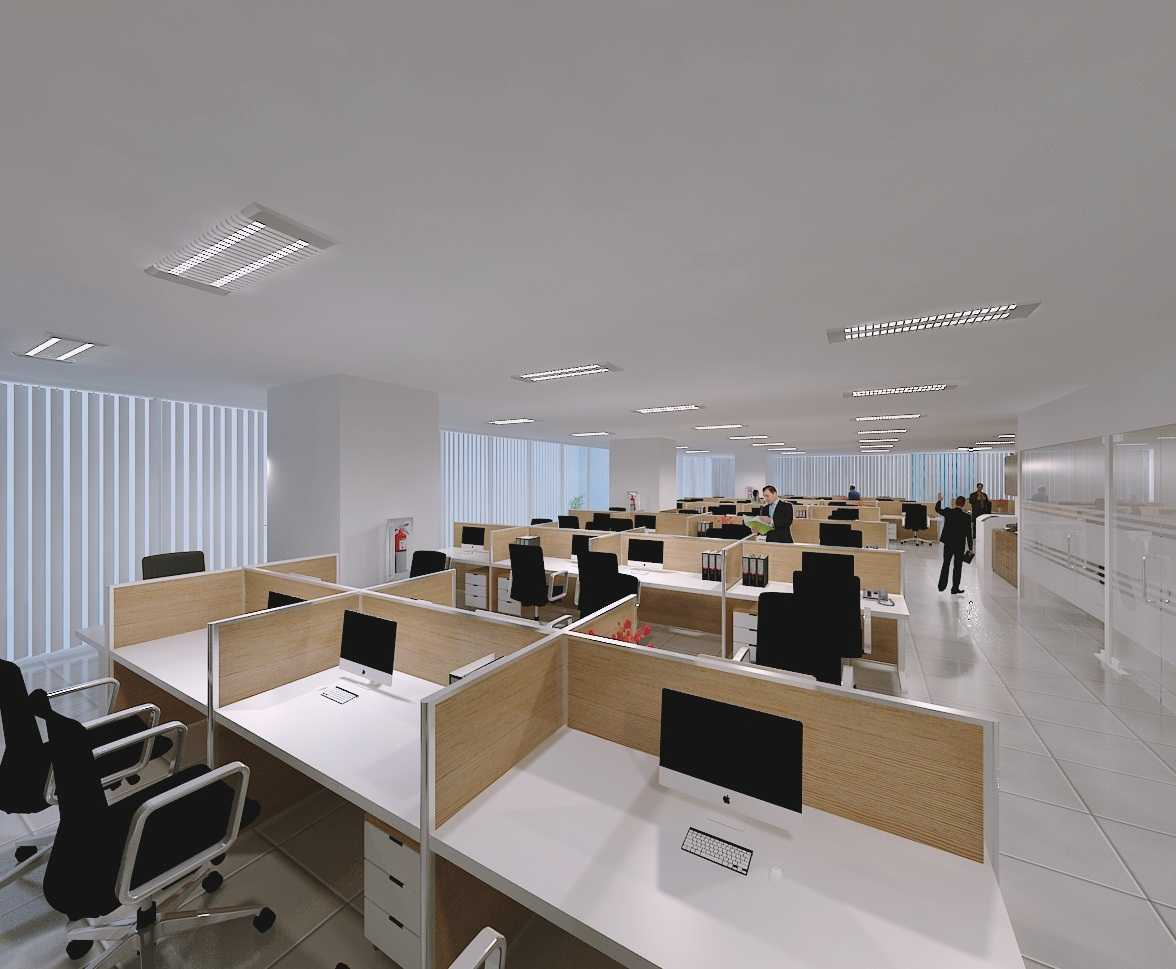 office cubicle lighting. Fiano Modern Office Jakarta Cubicle-View-1 Minimalis 28871 Cubicle Lighting