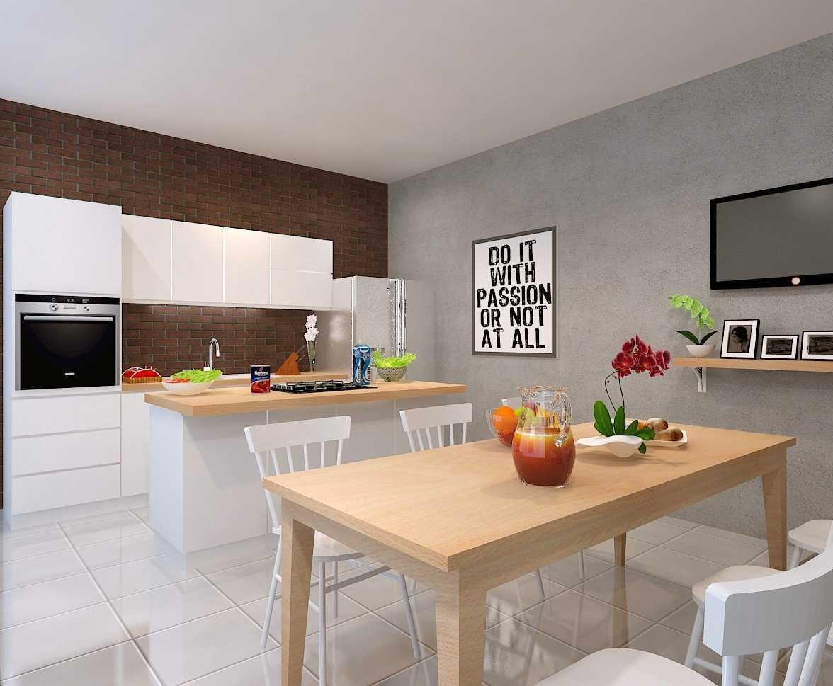 Foto inspirasi ide desain apartemen skandinavia Pantry oleh FIANO di Arsitag