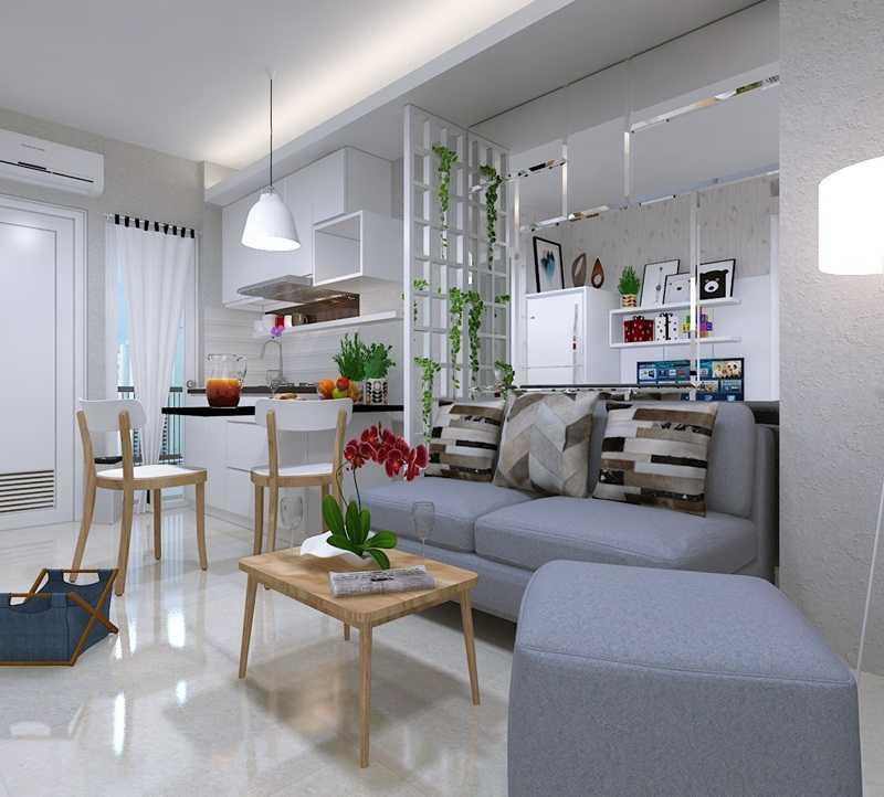 Fiano Ai House Smart Living Jakarta Jakarta Living-Room-View-1-2 Skandinavia 28887