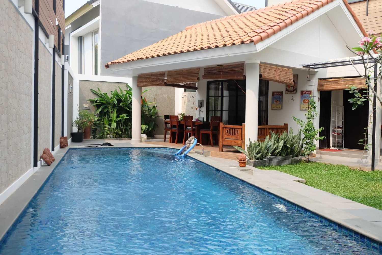 Fiano Rumah Emerald View Bintaro, Pesanggrahan, Kota Jakarta Selatan, Daerah Khusus Ibukota Jakarta, Indonesia  Backyard Tropis 37715