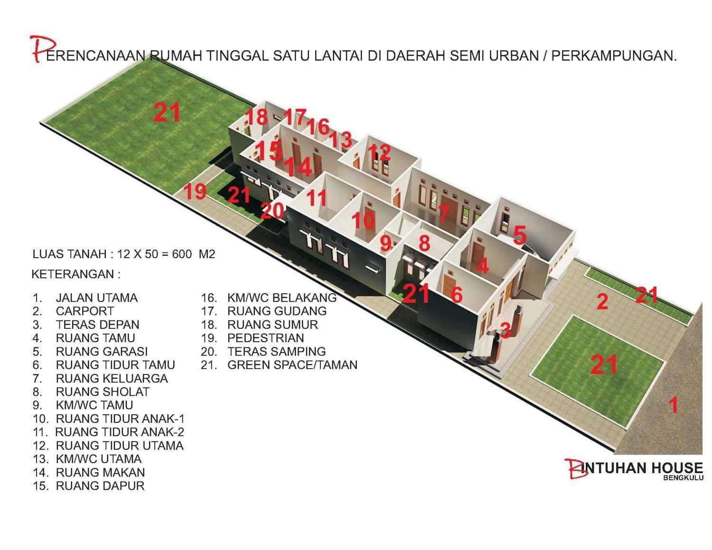 Marzal Rakhmadi Architects Bintuhan House Bengkulu Bengkulu Axonometri-Ruang  10926