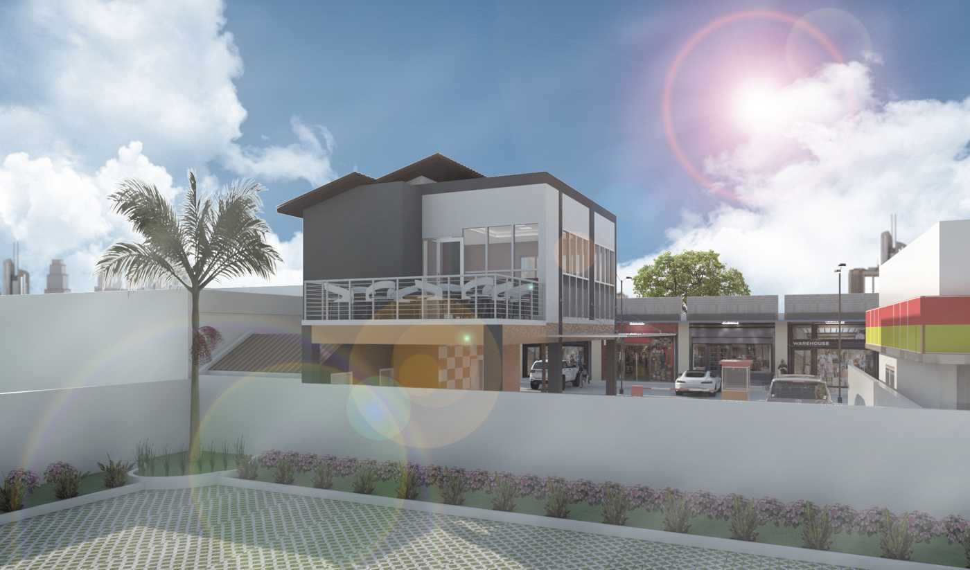 Studio Besar Carwash & Cafe , Jonggol Jonggol, Bogor, Jawa Barat, Indonesia Bogor, Jawa Barat Desain-Exterior-Cafe-And-Carwash-Jonggol-View-2  44937