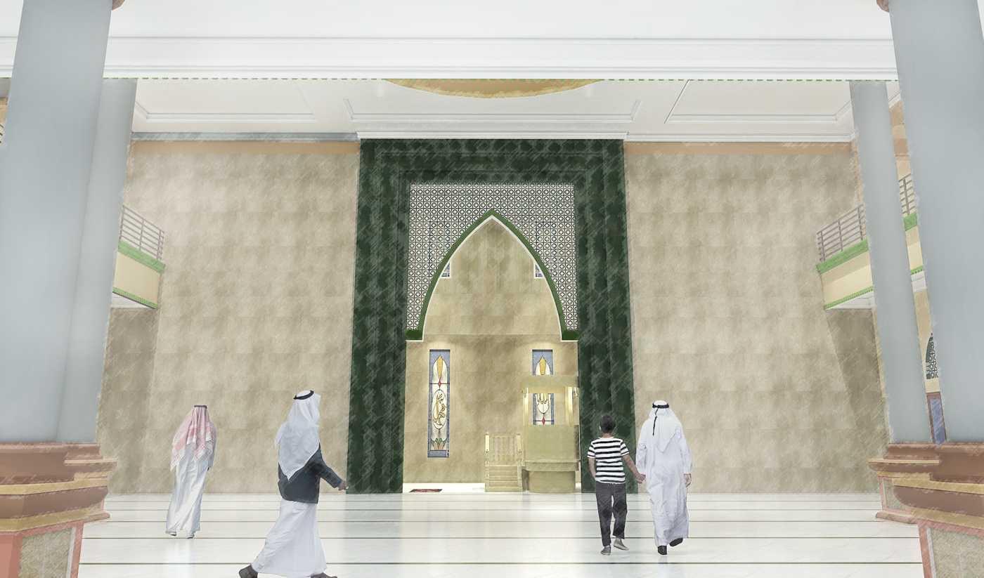 Foto inspirasi ide desain pintu masuk klasik Interior view oleh Studio BESAR di Arsitag