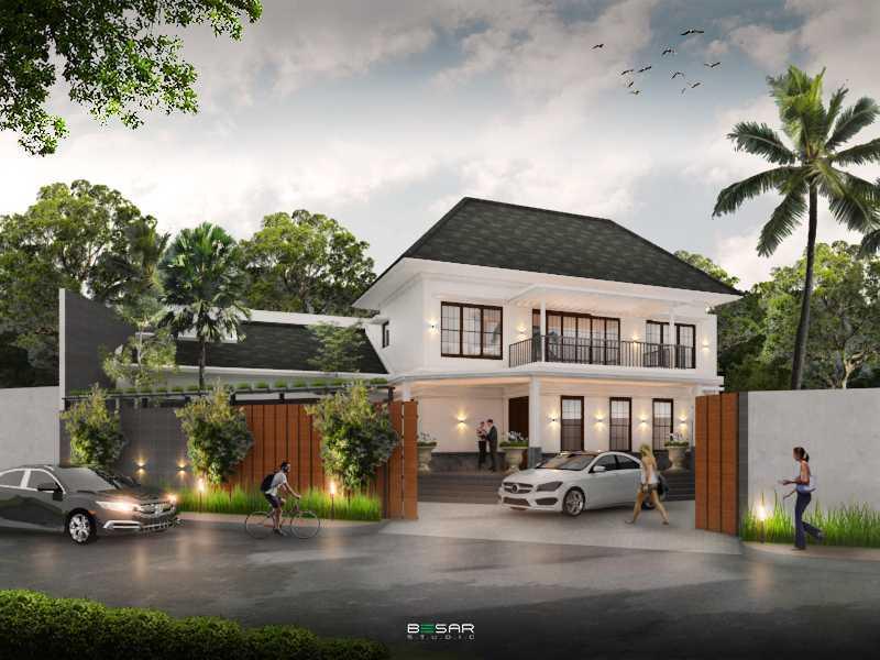 Studio Besar Jatiroke House, Bandung Jatinangor, Kabupaten Sumedang, Jawa Barat, Indonesia Jatinangor, Kabupaten Sumedang, Jawa Barat, Indonesia Exterior View Classic 51021