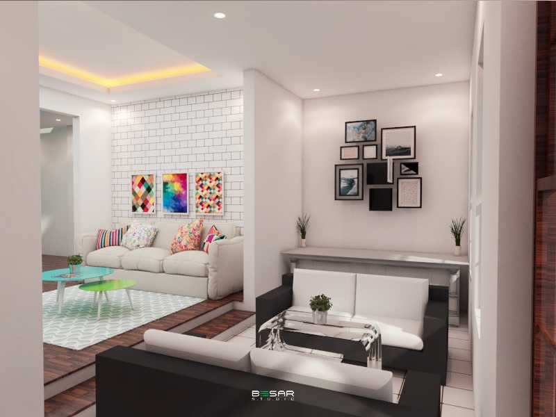 Studio Besar Jatiroke House, Bandung Jatinangor, Kabupaten Sumedang, Jawa Barat, Indonesia Jatinangor, Kabupaten Sumedang, Jawa Barat, Indonesia Living Room Klasik 51023