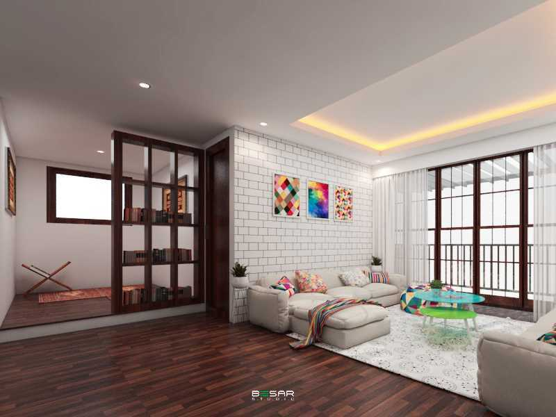 Studio Besar Jatiroke House, Bandung Jatinangor, Kabupaten Sumedang, Jawa Barat, Indonesia Jatinangor, Kabupaten Sumedang, Jawa Barat, Indonesia Interior View Klasik 51024