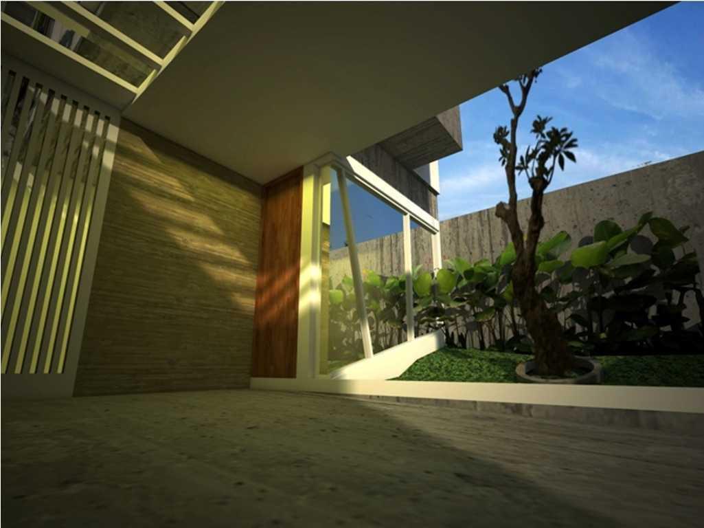 Foto inspirasi ide desain garasi kontemporer Garage car oleh Aditya Wijaya / Studio indirakasa di Arsitag