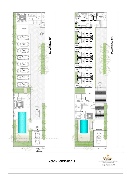 Aditya Wijaya / Studio Indirakasa Villaki Yogyakarta Yogyakarta Site Plan Tropis 15705