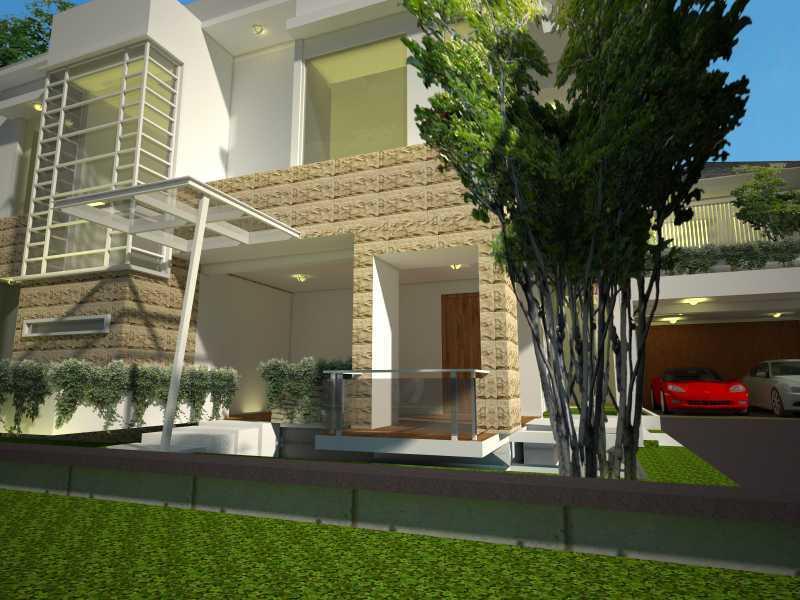 Aditya Wijaya / Studio Indirakasa Lejok House Yogyakarta Yogyakarta Front Area  16817