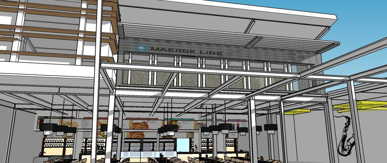 Aditya Wijaya / Studio Indirakasa Contemporer Food Court Temanggung Temanggung,jawa Tengah Temanggung,jawa Tengah Front View Kontemporer 19067
