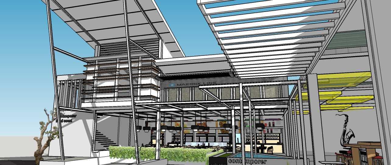 Aditya Wijaya / Studio Indirakasa Contemporer Food Court Temanggung Temanggung,jawa Tengah Temanggung,jawa Tengah Side View Kontemporer 19074