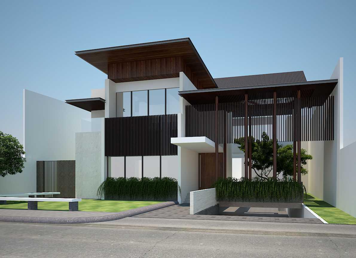 Pt Alradista Desain Indonesia Kemang House Kemang Kemang Front View Modern 11146