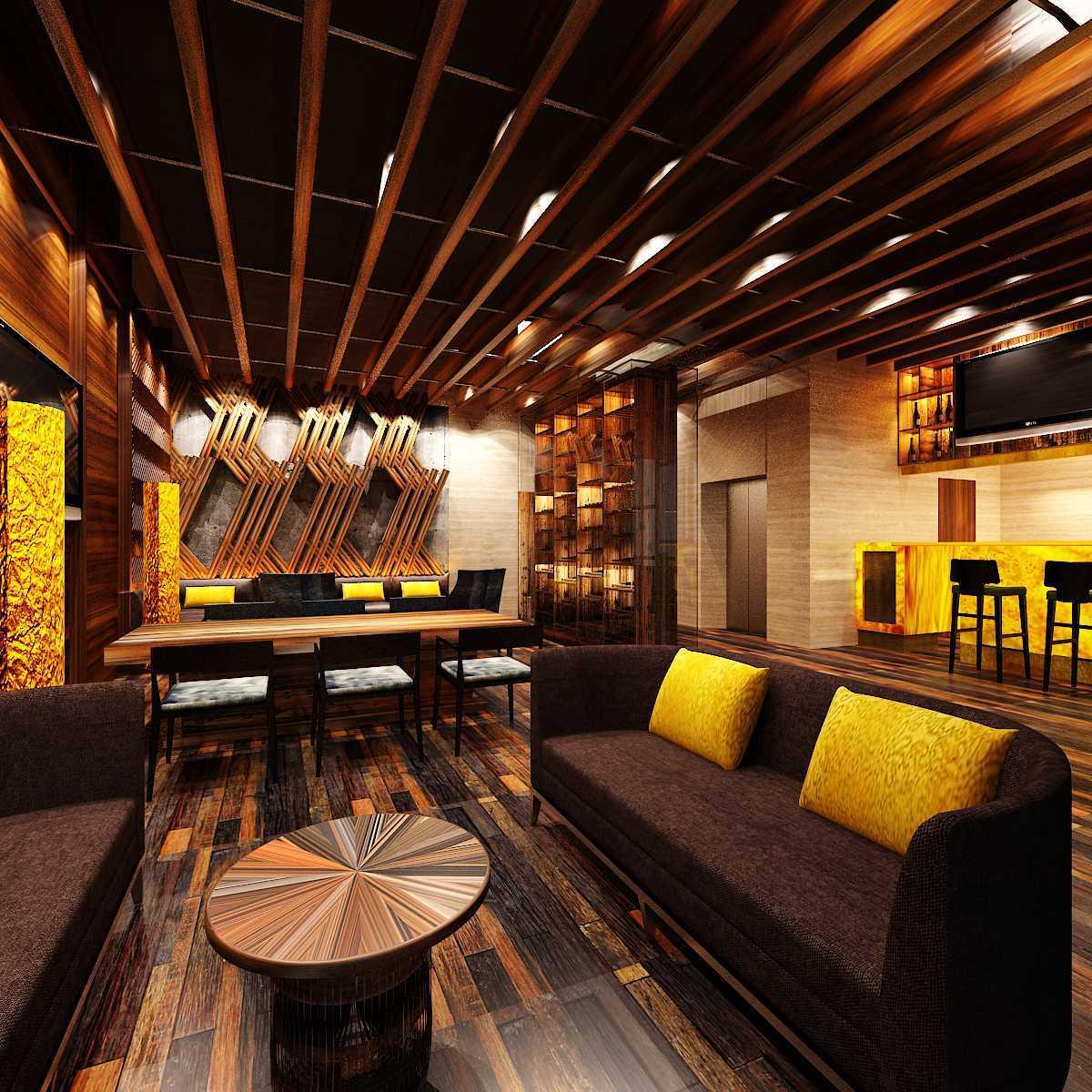 Pt Alradista Desain Indonesia Camar Lounge Pantai Indah Kapuk Pantai Indah Kapuk Seating Area  24232