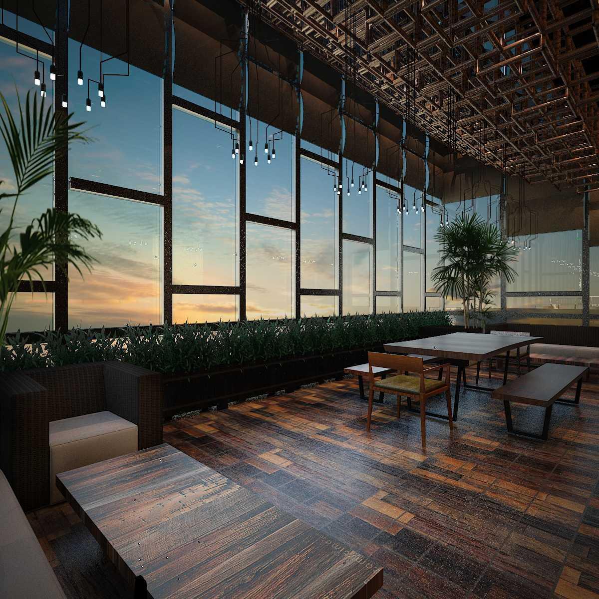 Pt Alradista Desain Indonesia Camar Lounge Pantai Indah Kapuk Pantai Indah Kapuk Seating Area  24235