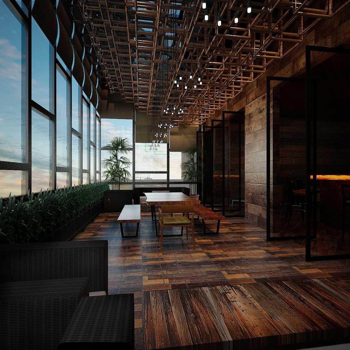 Pt Alradista Desain Indonesia Camar Lounge Pantai Indah Kapuk Pantai Indah Kapuk Seating Area  24236