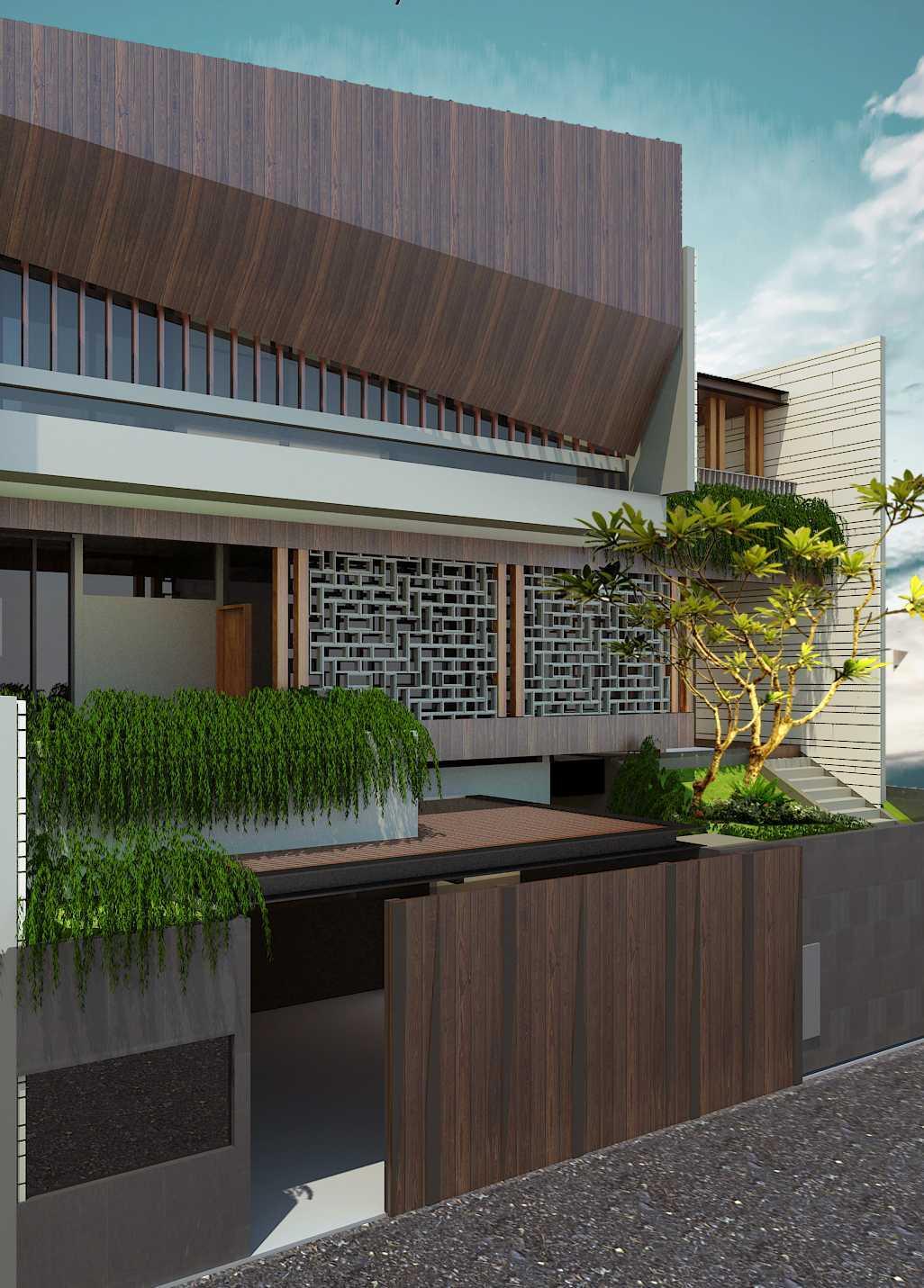 Pt Alradista Desain Indonesia Sa House Bandung City, West Java, Indonesia Bandung City, West Java, Indonesia Exterior View Modern 30734
