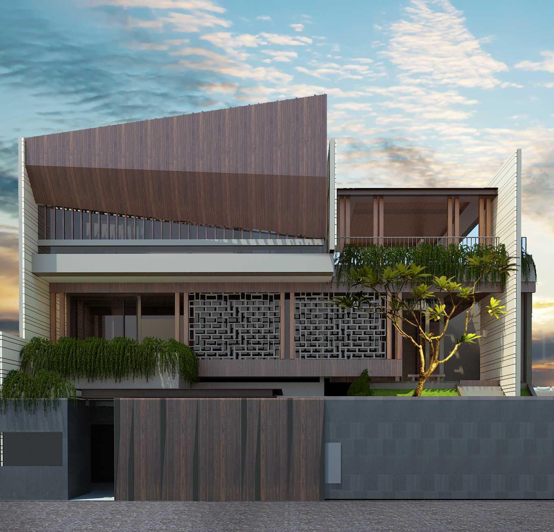 Pt Alradista Desain Indonesia Sa House Bandung City, West Java, Indonesia Bandung City, West Java, Indonesia Front View Modern 30735