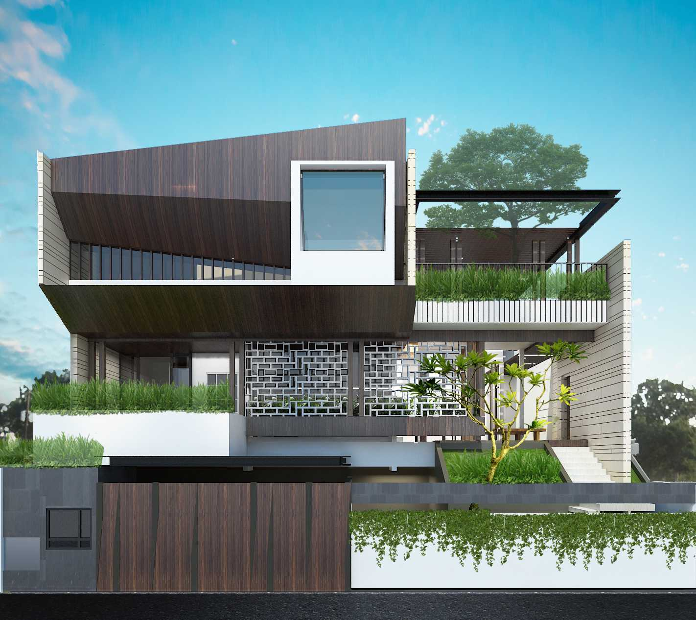 Pt Alradista Desain Indonesia Sa House Bandung City, West Java, Indonesia Bandung City, West Java, Indonesia Alradistadesign-Sa-House  50511