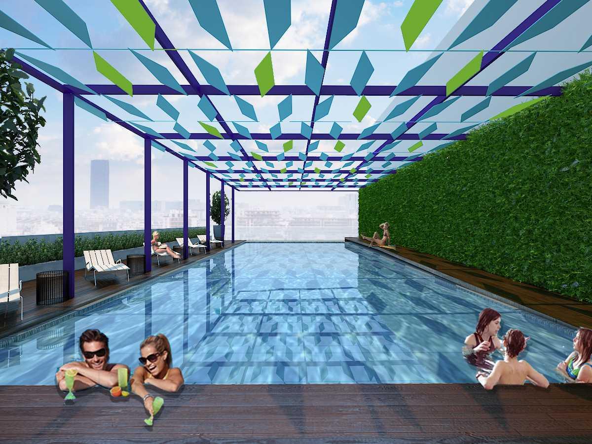 Alradistadesign Hotel & Apartment Kemang Jakarta Selatan, Kota Jakarta Selatan, Daerah Khusus Ibukota Jakarta, Indonesia  Swimming-Pool Modern 37942