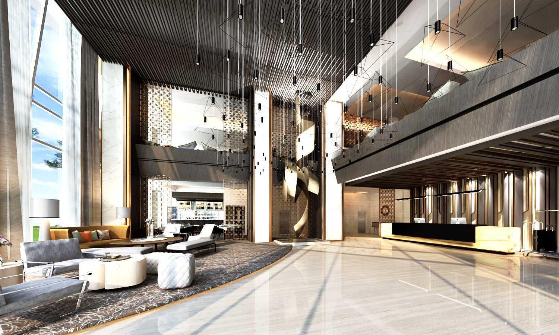 Rinto Katili, S.s.n, M.m Lobby Hotel Pemuda 17, Surabaya Surabaya Surabaya Lobby Hotel With Modern Black White Style Contemporary,modern 32525