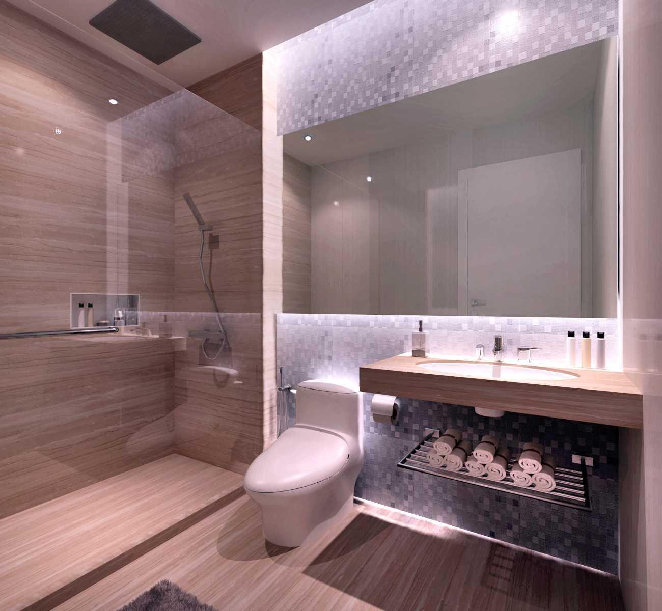 Rinto Katili Industrial Style Apartment Jakarta Jakarta Guest-Bathroom- Industrial 32499