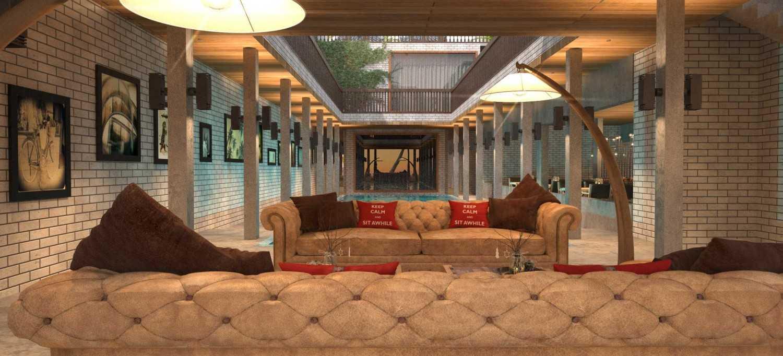 Foto inspirasi ide desain restoran klasik Restaurant corridor area oleh Rinto Katili di Arsitag