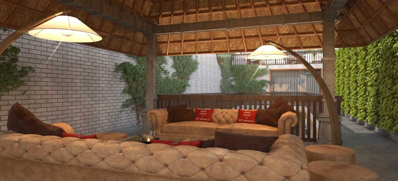 Foto inspirasi ide desain lobby industrial Sitting-area-2nd-floor oleh Rinto Katili di Arsitag