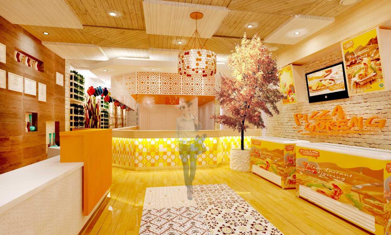 Foto inspirasi ide desain dapur minimalis Pizza-goreng-store-alternative oleh Rinto Katili di Arsitag