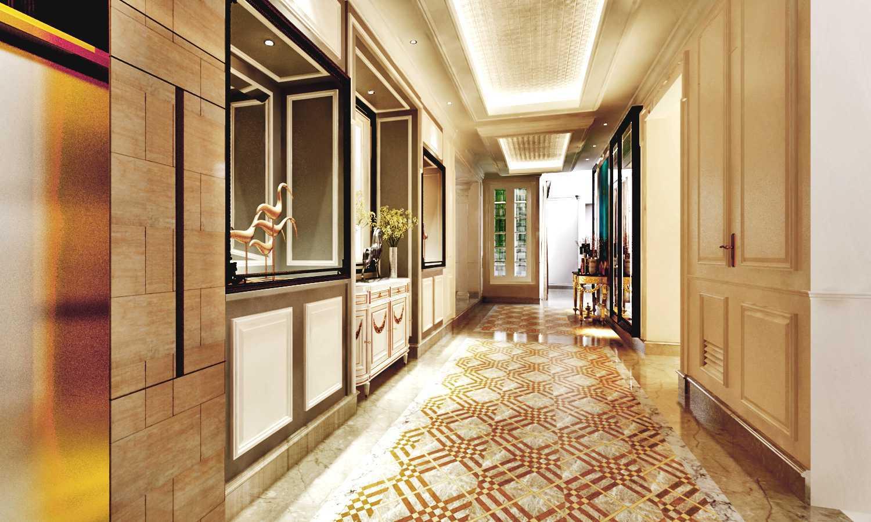 Foto inspirasi ide desain koridor dan lorong klasik Classical-house-6 oleh Rinto Katili di Arsitag