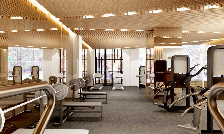 Rinto Katili Gym Area At Hotel Bandung, Bandung City, West Java, Indonesia Bandung, Bandung City, West Java, Indonesia Interior-Of-Gym-Area Kontemporer 33671