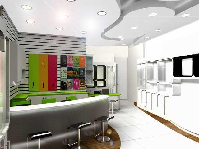 Foto inspirasi ide desain display area modern Inve-store epicentrum-walk-3 oleh Rinto Katili di Arsitag