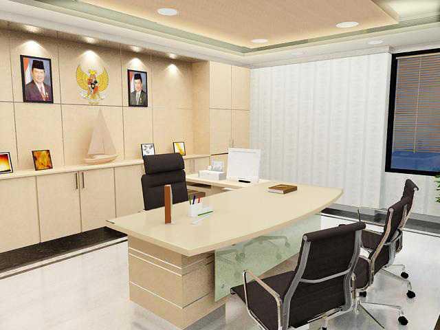 Rinto Katili General Manager Room At Pln Gambir Jakarta, Indonesia Jakarta, Indonesia Ruang-General-Managerpln-Gambir-4 Modern 33654