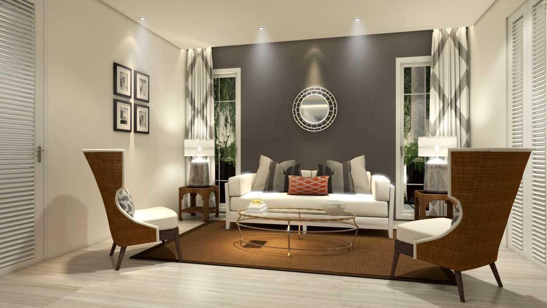 Foto inspirasi ide desain ruang keluarga tropis Guest-room-1 oleh Rinto Katili di Arsitag