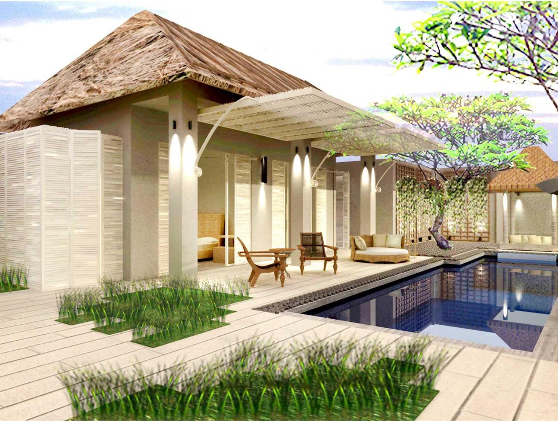 Foto inspirasi ide desain asian Exterior view oleh Rinto Katili di Arsitag