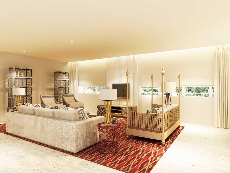 Foto inspirasi ide desain rumah kontemporer Living room oleh Rinto Katili di Arsitag