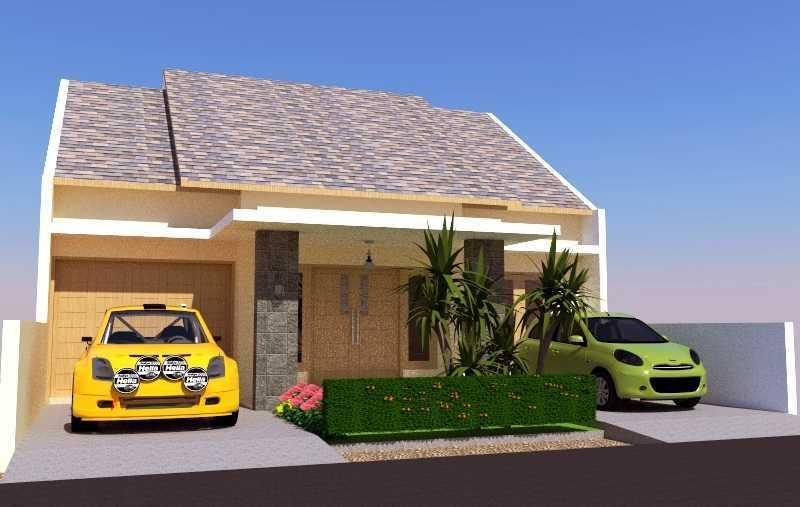 Foto inspirasi ide desain rumah asian Tampak001 oleh Eko Sulistiyono di Arsitag