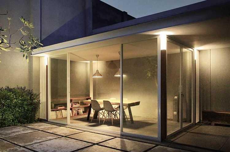 Foto inspirasi ide desain ruang meeting skandinavia Meeting room oleh Adrian Eka di Arsitag