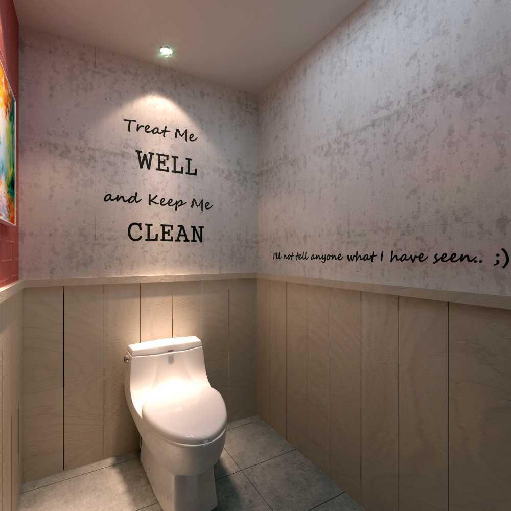 Foto inspirasi ide desain kamar mandi industrial Toilet oleh Meili Darmasetiawan di Arsitag