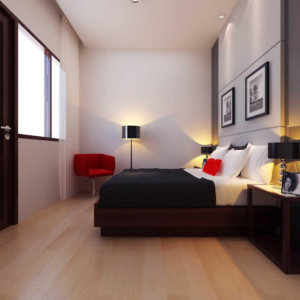 Meili Darmasetiawan Menteng Dalam Interior Tebet, Menteng Dalam Jakarta  Tebet, Menteng Dalam Jakarta  Guest Bedroom Modern 13223