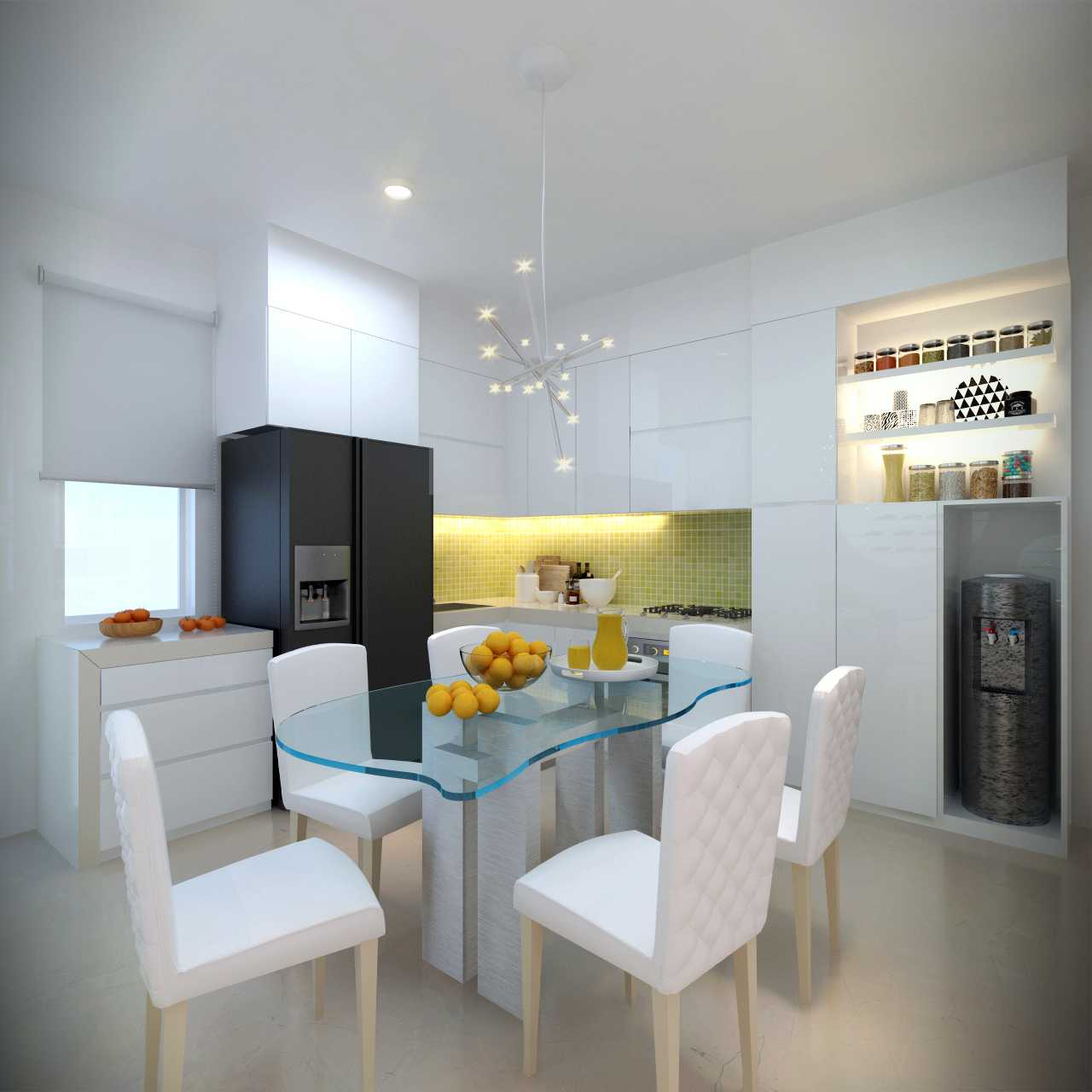 Meili Darmasetiawan Summerbliss Residence Lippo Cikarang Bekasi Lippo Cikarang Bekasi Kitchen Modern 13793