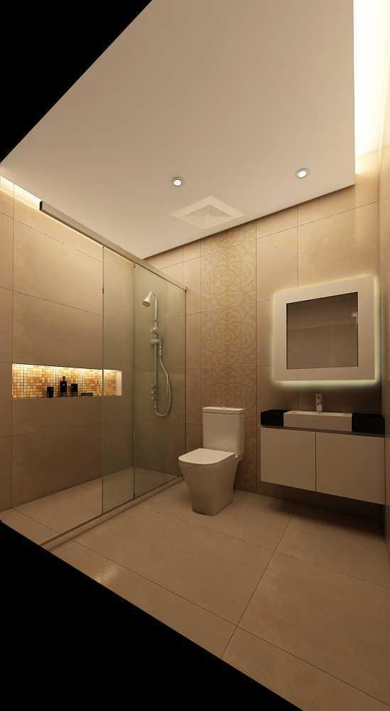 Meili Darmasetiawan Lotus Residence  Grand Galaxy City Bekasi Grand Galaxy City Bekasi 3D-Master-Bathroom-Rev Modern 14086