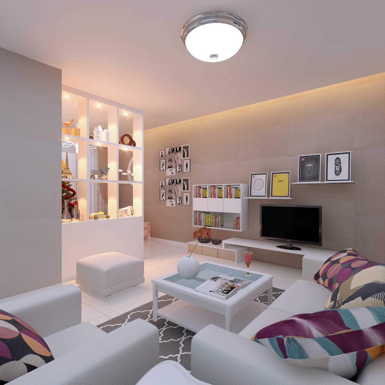 Meili Darmasetiawan Lotus Residence  Grand Galaxy City Bekasi Grand Galaxy City Bekasi 3D-Living-Room Modern 14087