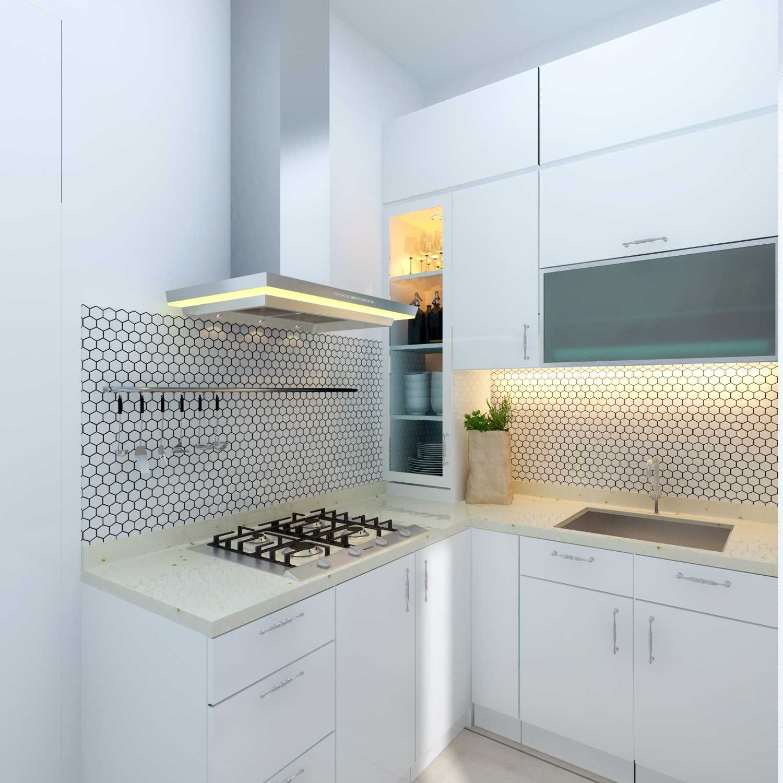 Meili Darmasetiawan Lotus Residence  Grand Galaxy City Bekasi Grand Galaxy City Bekasi 3D-Dapur Modern 14089