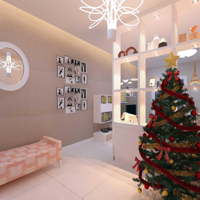 Meili Darmasetiawan Lotus Residence  Grand Galaxy City Bekasi Grand Galaxy City Bekasi 3D-Foyer- Modern 14090