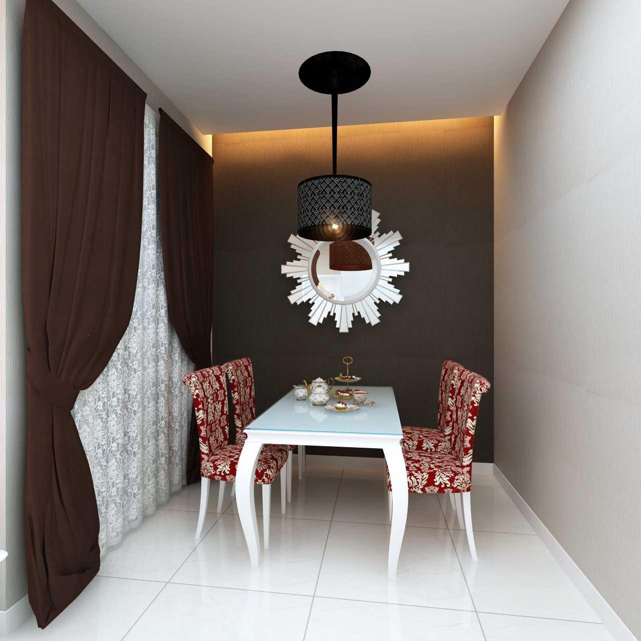 Meili Darmasetiawan Lotus Residence  Grand Galaxy City Bekasi Grand Galaxy City Bekasi 3D-Ruang-Makan Modern 14091