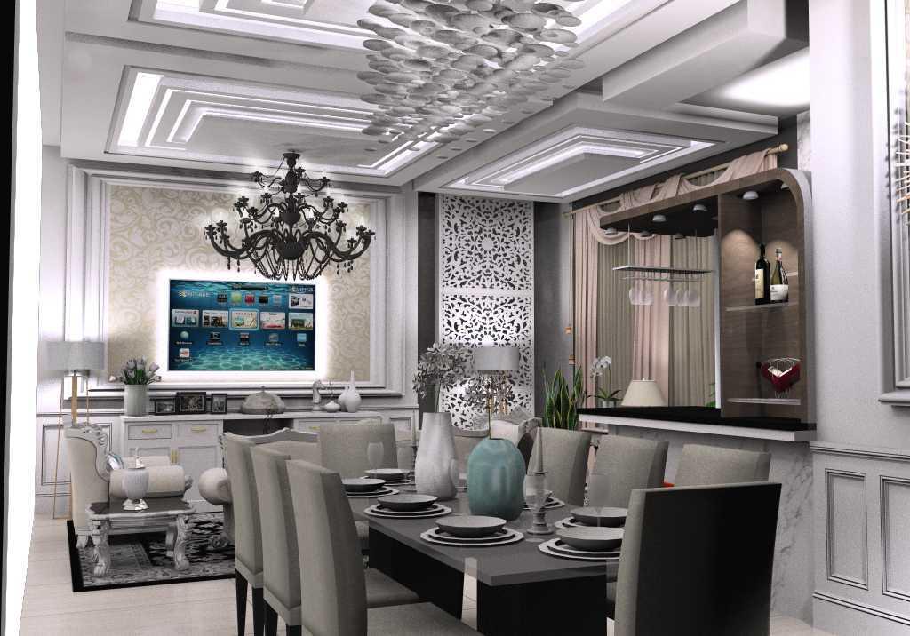 Axis Citra Pama / Axis&m Architects Interior Project Classic Modren Style Jambi Jambi Tampak Prespektif Klasik 14618