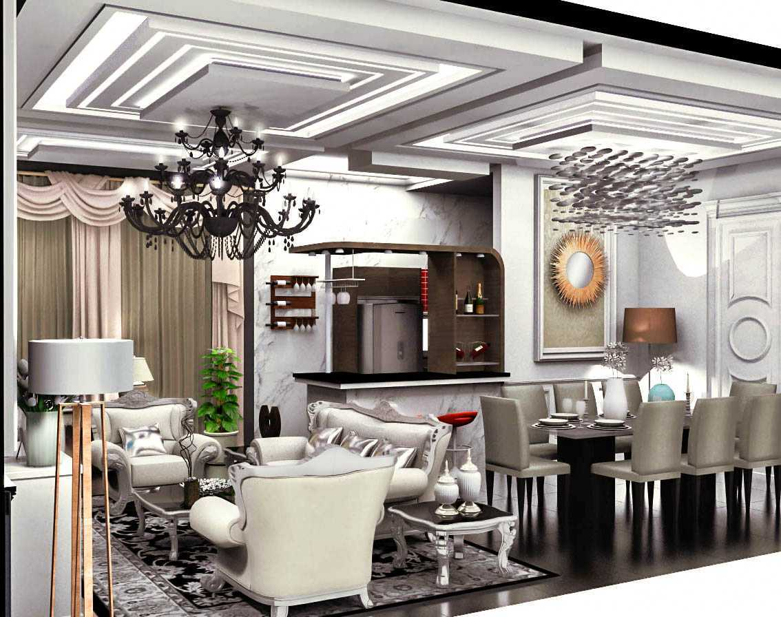 Axis Citra Pama / Axis&m Architects Interior Project Classic Modren Style Jambi Jambi Classic Modern Living Room Klasik 16421